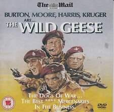 THE WILD GEESE - PROMO DVD: RICHARD BURTON, ROGER MOORE, RICHARD HARRIS