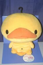 "SAN-X Kamonohashikamo Duck XL Plush Doll 30cm 12"" Big!!"