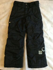 COLUMBIA  Bugaboo Omni-tech Youth Snowboard Snow Pants - 10 /12 Waterproof