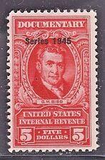 US Scott # R 427 $5 1945 Documentary Revenue Stamp USED VF PH Clean