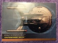 🎟 2002 Paramount Pictures Star Trek Enterprise #9 of 9 Enterprise NX-01