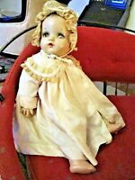 ANTIQUE MADAM ALEXANDER BABY DOLL IN ORIGINAL CLOTHES NEEDS SOME LOVE