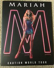 Mariah Carey Caution World Tour Book Concert Program - RARE!! Good Condition