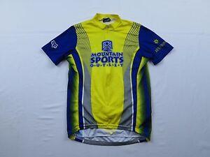 FOX Mountain Sports Outlet Keystone Bike Cycling Jersey Sz S Small Shirt MTB Zip