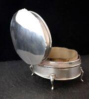 Antique silver jewellery casket, 1910's, jewellery box