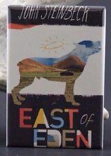 """East of Eden Book Cover - 2"""" X 3"""" Fridge / Locker Magnet. John Steinbeck"""
