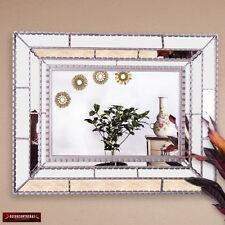 Silver Large Wall mirror, 'Silver Taita'- Peruvian Handmade Mirror Wall Decor