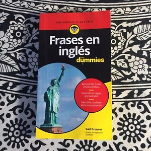 Frases en inglés para dummies by Brenner, Gail | Book Good condition See Photos