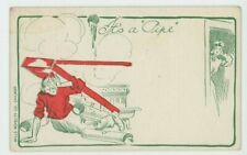 It's A Pipe, Mills Novelty Co. Chicago USA Comic Postcard, C050
