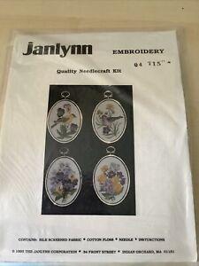 Janlynn Embroidery Kit