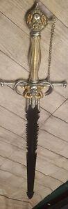 SWORD - MARTO FANTASY ANGEL OF DEATH SWORD MADE IN TOLEDO SPAIN