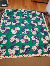 """Patchwork & Applique Baby Quilt - Colorful Balloons 52"""" by 42"""""""