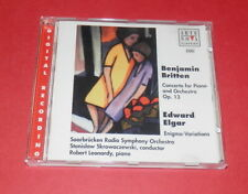 Britten -- Concerto for Piano and Orchestra OP 13 / Elgar-- CD
