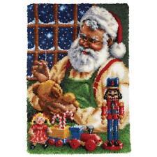 Herrschners Santa's Workshop Latch Hook Kit