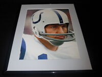 Johnny Unitas Framed 11x14 Photo Display Baltimore Colts D
