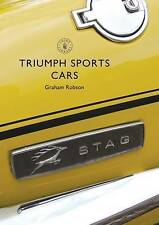 Triumph Sports Cars (Shire Library) by Robson, Graham | Paperback Book | 9781784