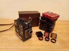 1930's Siemens & Halske 16mm Film Camera With 8 Cassettes