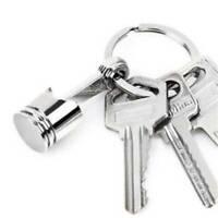 Chain Creative Keychain Keyring Ring Luxury Key Cool Gift Keyfob Car Men Q