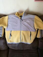 Nice Northface Polartec Girls Yellow Denali Fleece Jacket Youth Sz M Medium