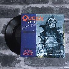 "Queen - A Kind Of Magic - 7"" Promo Vinyl Record Single - (Japan) 1986 - Rare"