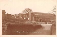 Cheshire - MACCLESFIELD FOREST, Church & Village scene - Real Photo
