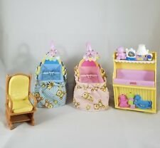 Fisher Price Loving Family Twin Time Grand Mansion Dollhouse Nursery Furniture