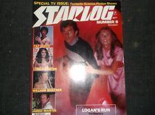 Vintage Sci-FI Magazine STARLOG/Oct.1997/WonWoman/Atlantis/Logans/Trek