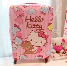 """24""""-26"""" Cute For Hello Kitty Luggage Protector Suitcase Cover Bags Dust-proof UK"""