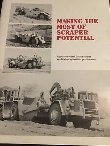 CATERPILLAR TRACTOR-SCRAPER GUIDE  1993   32 Pages