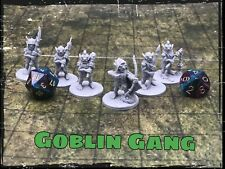 Goblin Gang Set of 6 Miniatures 28mm Dungeons and Dragons DnD Fdg Mini