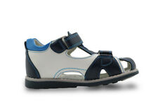 Baby Summer Shoes Leather Brand Breathable Close Toe Toddler Boys Sport Sandals