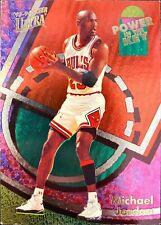 1993-94 Fleer Ultra Michael Jordan Power in the Key Insert Parallel MJ #2/9 READ