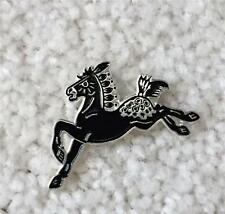 New Appaloosa Horse Pin Brooch Painted Ponies Spirit Horse Cloisonne ApHC Art
