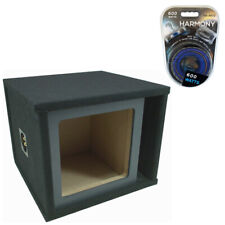 "Kicker Solobaric Single 15"" Ported L3 L5 L7 Subwoofer Enclosure Sub Box Amp Kit"