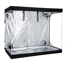 "96""x48""x78"" Indoor Grow Tent Room 600D Reflective Mylar Hydroponic Non Toxic Hut"