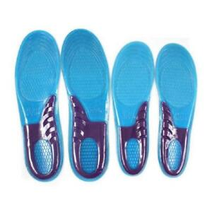Massaging Gel Cushioned Shoe Insoles - for Men and Women
