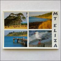 Mt Eliza 4 Views Postcard (P396)