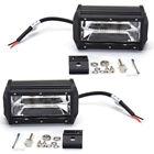 Pro Voiture 5'' 72W Lampe de travail LED BARRE projecteur feu route jeep Camion