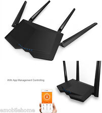 Original Tenda AC6 1200Mbps Wireless Router 5dBi External Antennas BLACK