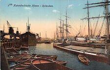POSTCARD   NETHERLANDS  ROTTERDAM  The  Harbour