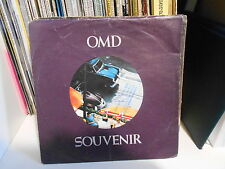 "OMD  "" SOUVENIR /MOTION & HEART/SACRED HEART ""  7"" 1981 DINDISC ITALY"