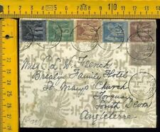 Francia France cover to UK as 7
