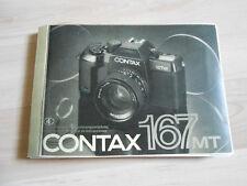 Gebrauchsanleitung CONTAX 167 MT  130Seite