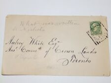 (A411) EARLY CANADA COVER TO TORONTO WITH 2c STAMP