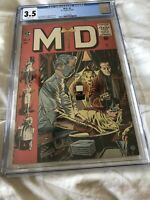 MD #3, 3.5 CGC Graded, 1955 EC Golden Age Comic Book