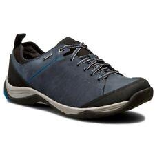 Clarks Baystone Lo Gtx Blue Nubuck Men's Shoes Size UK 9G