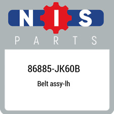 86885-JK60B Nissan Belt assy-lh 86885JK60B, New Genuine OEM Part