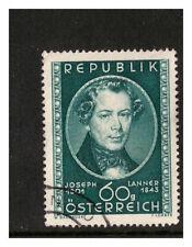 REPUBBLICA AUSTRIA OSTERREICH 1951 150TH nascita ann Joseph Lanner in perfetta condizione Usato