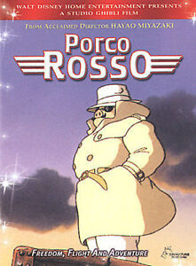 Porco Rosso DVD Fast Free Shipping !!!