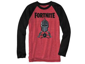 Fortnite Knight Long Sleeve Big Boy's T-Shirt NWT